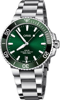 Швейцарские мужские часы в коллекции Aquis Мужские часы Oris 733-7732-41-57MB