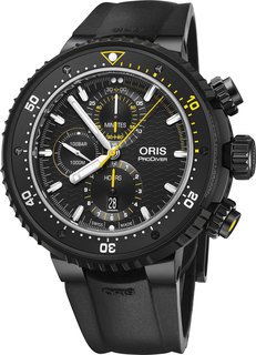 Швейцарские мужские часы в коллекции ProDiver Мужские часы Oris 774-7727-77-84RS