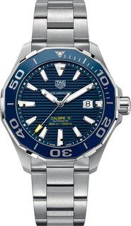 Швейцарские мужские часы в коллекции Aquaracer Мужские часы TAG Heuer WAY201B.BA0927