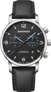 Швейцарские мужские часы в коллекции Urban Metropolitan Мужские часы Wenger 01.1743.120