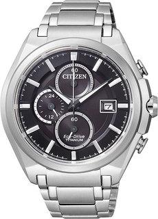 Японские мужские часы в коллекции Eco-Drive Мужские часы Citizen CA0350-51E
