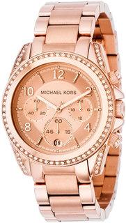 Женские часы в коллекции Ladies Chronos Женские часы Michael Kors MK5263