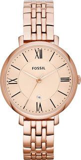 Женские часы в коллекции Jacqueline Женские часы Fossil ES3435