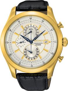 Японские мужские часы в коллекции CS Dress Мужские часы Seiko SPC168P1