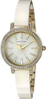 Женские часы в коллекции Ceramics Женские часы Anne Klein 2180IVGB