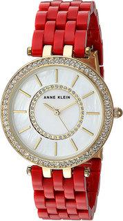Женские часы в коллекции Crystal Женские часы Anne Klein 2620RDGB