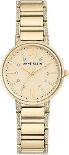 Женские часы в коллекции Crystal Женские часы Anne Klein 3200CHGB