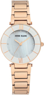 Женские часы в коллекции Crystal Женские часы Anne Klein 3198LGRG