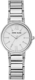 Женские часы в коллекции Crystal Женские часы Anne Klein 3201SVSV