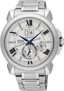 Японские мужские часы в коллекции Premier Мужские часы Seiko SNP139P1