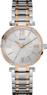 Женские часы в коллекции Dress Steel Женские часы Guess W0636L1