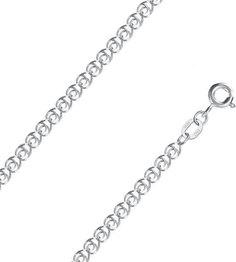 Серебряные цепочки Цепочки Красцветмет NC-22-087-3-0-40