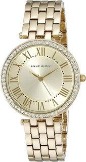 Женские часы в коллекции Crystal Женские часы Anne Klein 2230CHGB