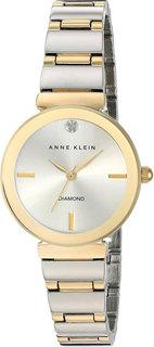 Женские часы в коллекции Diamond Женские часы Anne Klein 2435SVTT