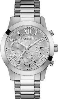 Мужские часы в коллекции Dress Steel Мужские часы Guess W0668G7