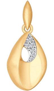 Золотые кулоны, подвески, медальоны Кулоны, подвески, медальоны SOKOLOV 034854_s