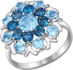 Серебряные кольца Кольца SOKOLOV 92011221_s