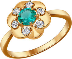 Серебряные кольца Кольца SOKOLOV 82010004_s