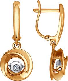 Золотые серьги Серьги SOKOLOV 1021070_s