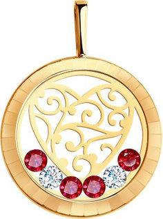 Золотые кулоны, подвески, медальоны Кулоны, подвески, медальоны SOKOLOV 035191_s