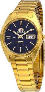 Японские мужские часы в коллекции 3 Stars Crystal 21 Jewels Мужские часы Orient AB00004D