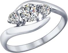 Серебряные кольца Кольца SOKOLOV 89010040_s