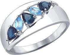 Серебряные кольца Кольца SOKOLOV 92011102_s