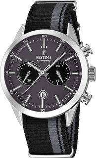 Мужские часы в коллекции Timeless Chrono Мужские часы Festina F16827/1