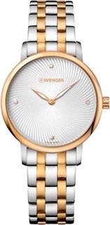 Швейцарские женские часы в коллекции Urban Donnissima Женские часы Wenger 01.1721.104