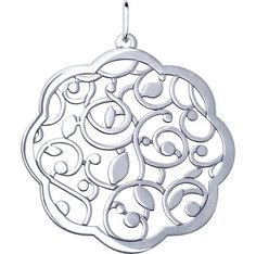 Серебряные кулоны, подвески, медальоны Кулоны, подвески, медальоны SOKOLOV 94032052_s