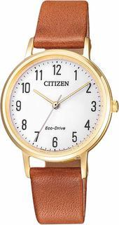Японские женские часы в коллекции Eco-Drive Женские часы Citizen EM0578-17A