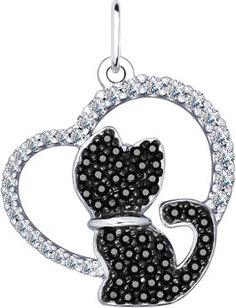 Серебряные кулоны, подвески, медальоны Кулоны, подвески, медальоны SOKOLOV 94031831_s