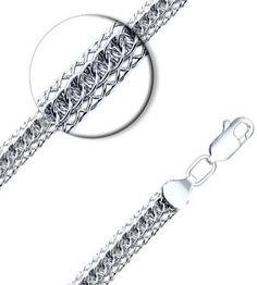 Серебряные цепочки Цепочки SOKOLOV 968300702_s