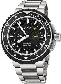 Швейцарские мужские часы в коллекции ProDiver Мужские часы Oris 748-7748-71-54MB