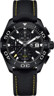 Швейцарские мужские часы в коллекции Aquaracer Мужские часы TAG Heuer CAY218A.FC6361