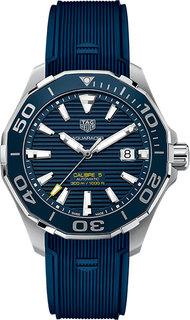 Швейцарские мужские часы в коллекции Aquaracer Мужские часы TAG Heuer WAY201B.FT6150