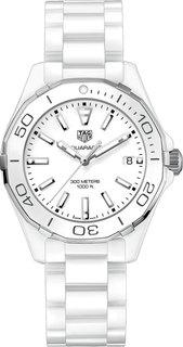 Швейцарские женские часы в коллекции Aquaracer Женские часы TAG Heuer WAY1391.BH0717