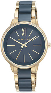 Женские часы в коллекции Plastic Женские часы Anne Klein 1412BLGB