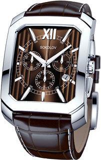 Мужские часы в коллекции Gran Turismo Мужские часы SOKOLOV 144.30.00.000.04.02.3