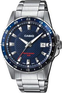 Японские мужские часы в коллекции Collection Мужские часы Casio MTP-1290D-2A