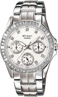 Японские женские часы в коллекции Sheen Женские часы Casio SHN-3013D-7A