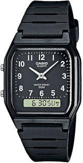 Японские мужские часы в коллекции Collection Мужские часы Casio AW-48H-1B