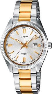 Японские женские часы в коллекции Collection Женские часы Casio LTP-1302PSG-7A