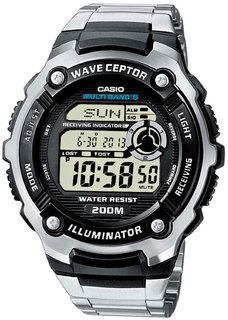 Японские мужские часы в коллекции Radio Controlled Мужские часы Casio WV-200DE-1A