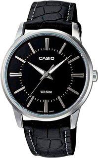 Японские мужские часы в коллекции Collection Мужские часы Casio MTP-1303PL-1A