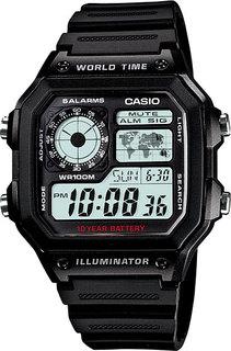 Японские мужские часы в коллекции Collection Мужские часы Casio AE-1200WH-1A