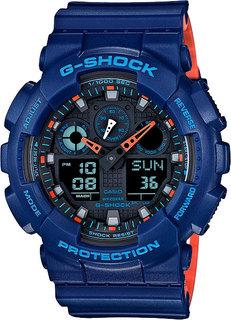 Японские мужские часы в коллекции G-SHOCK Мужские часы Casio GA-100L-2A