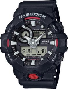 Японские мужские часы в коллекции G-SHOCK Мужские часы Casio GA-700-1A