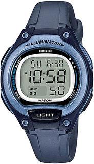 Японские женские часы в коллекции Collection Женские часы Casio LW-203-2A