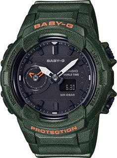 Японские женские часы в коллекции Baby-G Женские часы Casio BGA-230S-3A